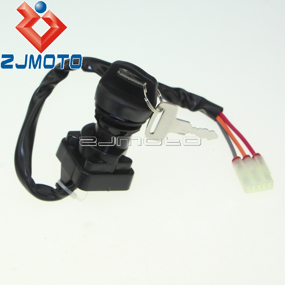 IGNITION KEY SWITCH FOR ARCTIC CAT 550 H1 EFI 4X4 AUTO 2009-2010 LE M4