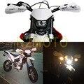 Motocross Blanco Faros Faro StreetFighter Motocicleta Dirt Bike Supermoto Universal Para KTM SX EXC SMR SXF XCF