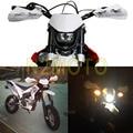 Motocross White Headlights Headlamp StreetFighter  Motorcycle Dirt Bike Supermoto Universal For KTM SX EXC XCF SXF SMR