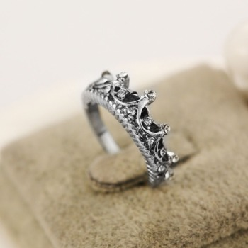 Princess Crown Ring New US Size 5 6 7 8 5