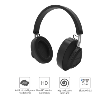 Bluedio TM wireless bluetooth headphone with microphone monitor studio headset for music and phones support voice control 1