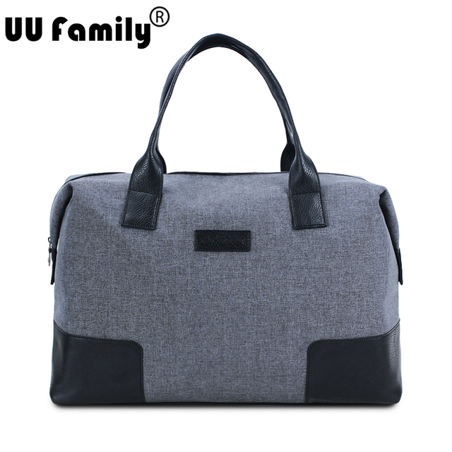 Uu Family 2017 Travel Bag Foldable Duffle Keepall Men Traveler Overnight Women