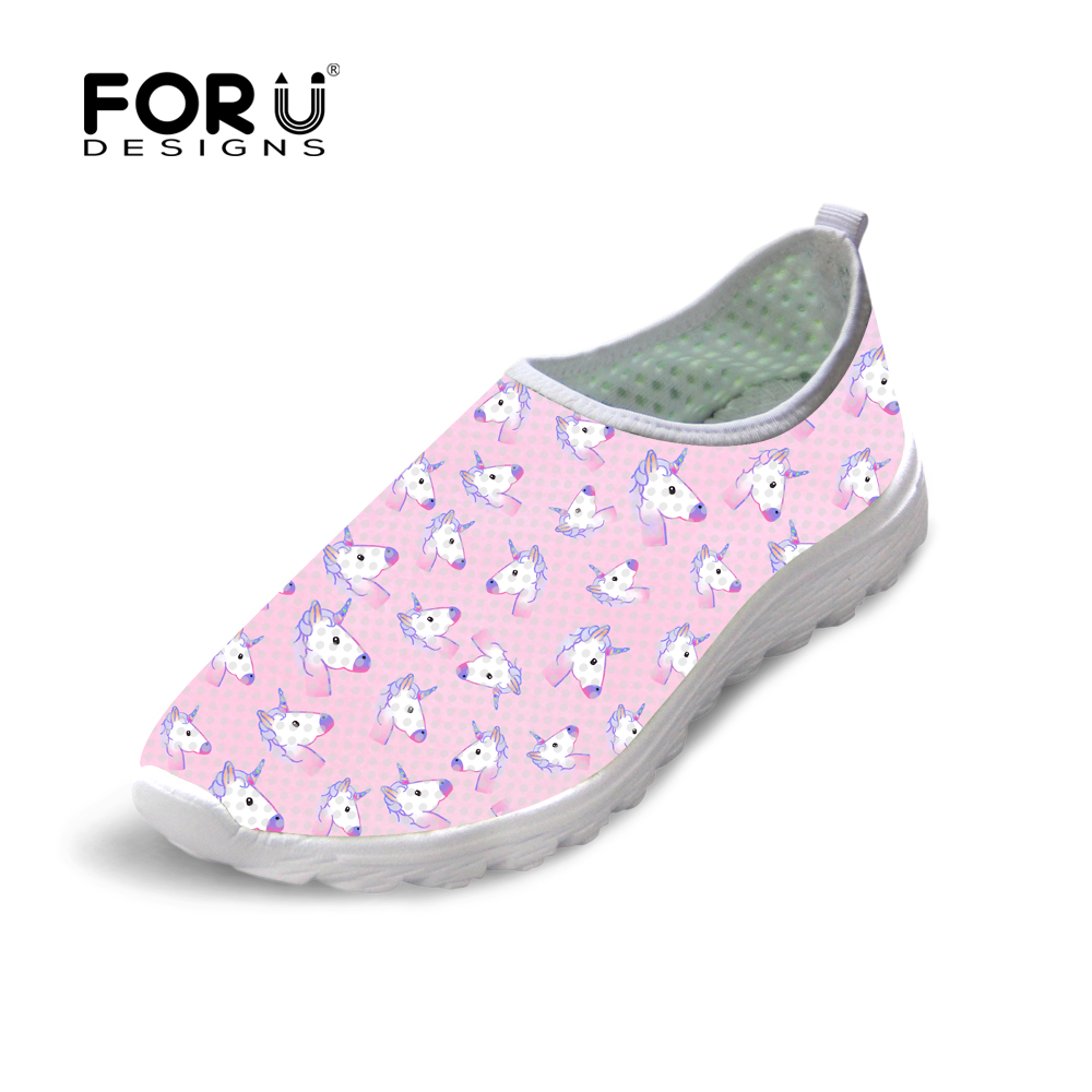 FORUDESIGNS Women Casual Mesh Shoes Fashion Horse Brand Designer Women Breathable Shoes Woman Zapatillas Flats Loafers Lady pinsen summer sneakers fashion shoes woman flats casual mesh flat shoes designer female loafers shoes for women zapatillas mujer