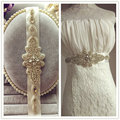Promotion New Sparkly Rhinestone Crystal Czech Formal Wedding Belt Vintage Sash Handmade Stunning DIY crystal
