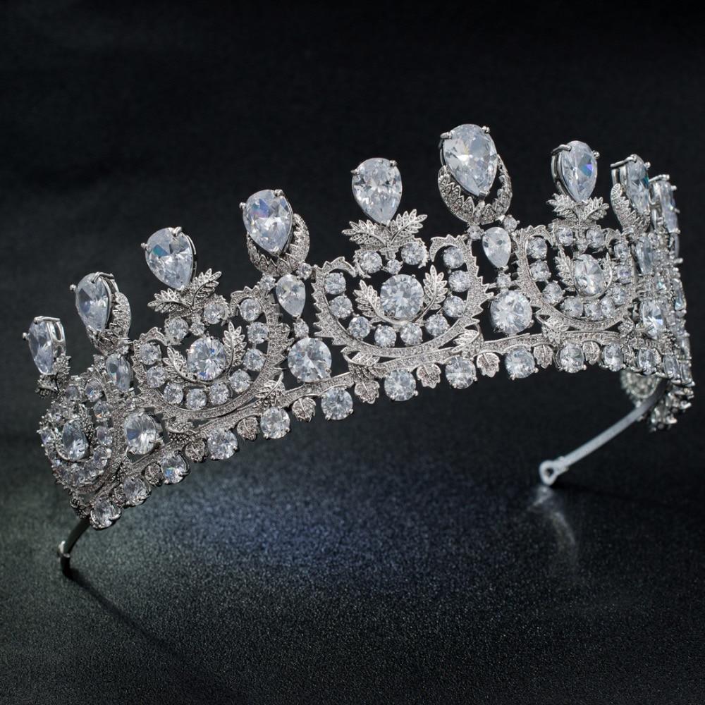 Royal Wedding Accessories Classic Spring Wedding Ideas: Aliexpress.com : Buy Classic Cubic Zirconia Big Royal