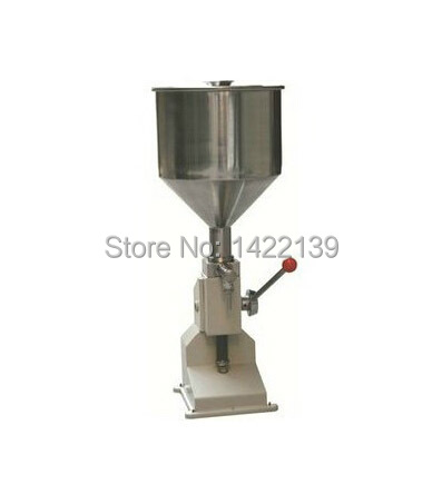 New Manual Filling Machine for cream & shampoo & cosmetic free shipping a03 new manual filling machine 5 50ml for cream