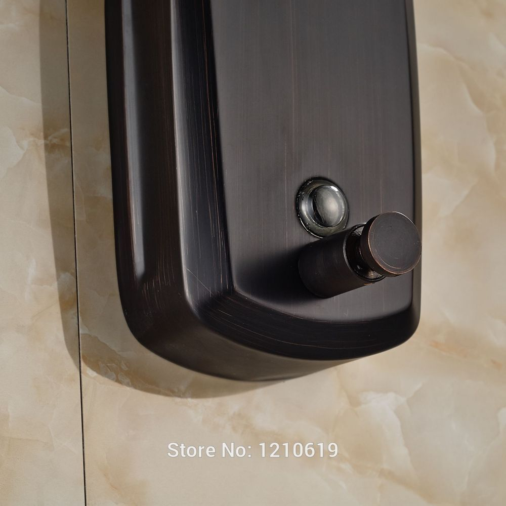 Oil Rubbed Bronze Wall Mounted Soap Dispenser Tyres2c