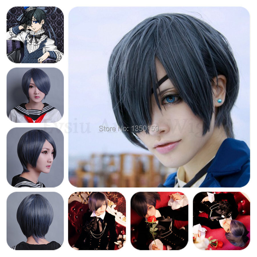 Black Butler Kuroshitsuji All Characters Anime Cosplay Hair Wig