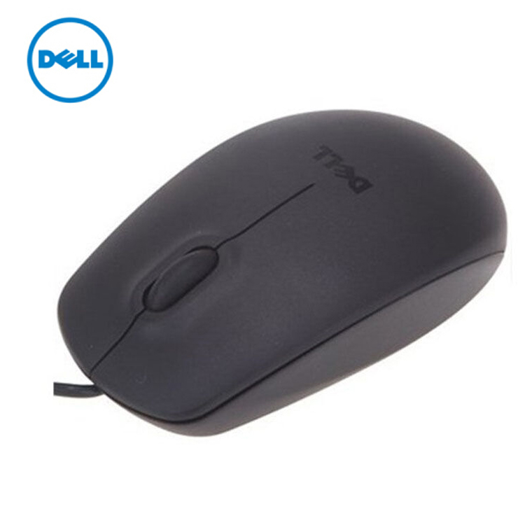 Original DELL MS111 USB Optical Mouse 3 BUTTON WHEEL MICE Color Packaging