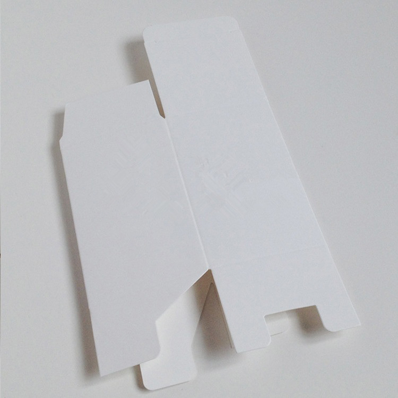 Boîte de papier blanc 50 pcs-7x7x17 cm pour vannes cosmétiques