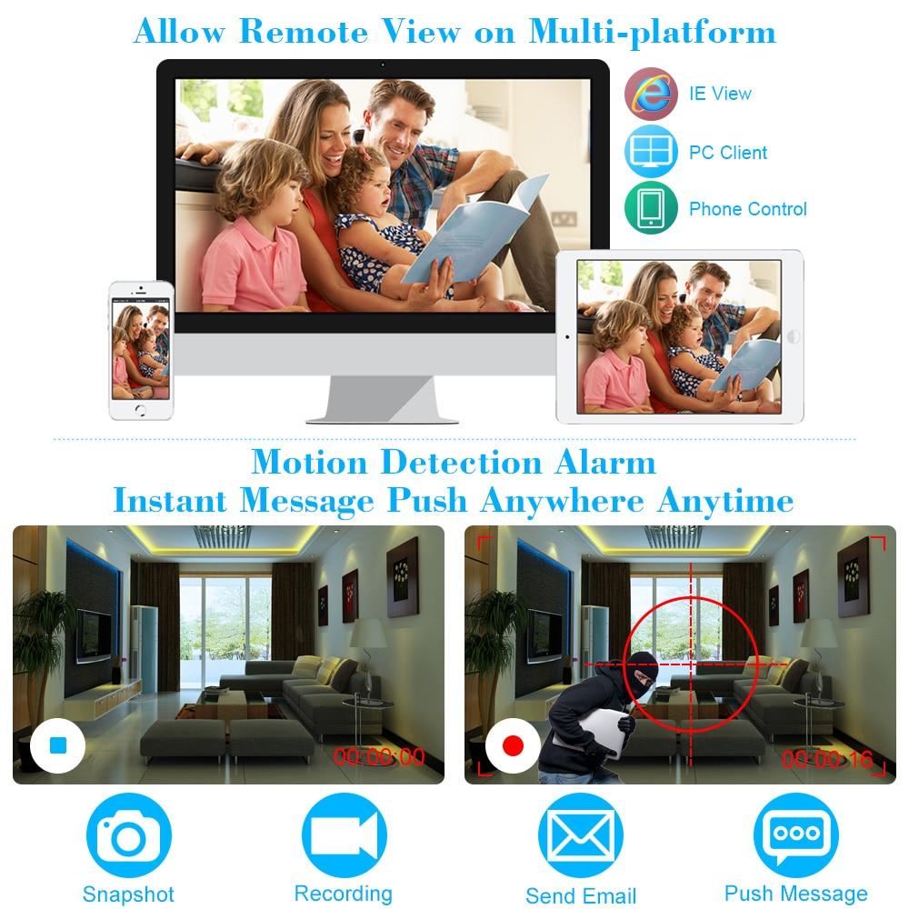 KKMOON Wireless PTZ IP Camera Outdoor 720P HD 2 8-12mm 4X Zoom CCTV  Security Video Network Surveillance IP Camera Wifi Dome Cam