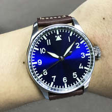 San Martin Men automatic watches 100m Water Resistant Sapphire glass ST2130mov't