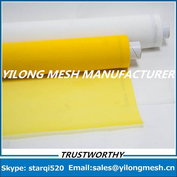 Fast Delievery!!! 20 Meters 64T(160mesh)-64um-315cm Polyester Bolting Cloth Textile Screen Printing Mesh
