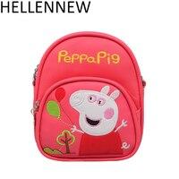 2018 Designers Small Cute Bag Children Kids Handbag Girls Double Shoulder Bag Cartoon Messenger Bags Purses