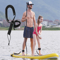 858d12b00 Paddle Board Safety Surf Leash Soft Rescue Outdoor Elastic Double Stand Up  Rope Foot Accessories Leg. Placa de pá ...