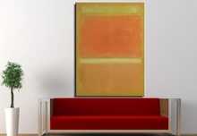Mark Rothko Still life Classical oil Painting Drawing art picture Unframed Modern Canvas for Home decor