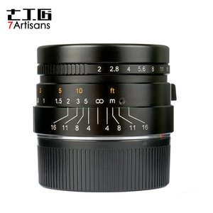 Image 4 - 7 אומנים 35mm F2 גדול צמצם הפרקסיאלית M הר עדשה עבור לייקה מצלמות M M M240 M3 M5 M6 m7 M8 M9 M9P M10 עדשה 35 2