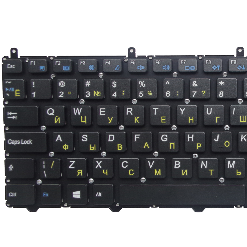 Image 3 - GZEELE RUSSIAN Keyboard for DNS Clevo W650 W650SRH W655 W650SR W650SC R650SJ W6500 W650SJ w655sc w650sh MP 12N76SU 4301 RU BLACK-in Replacement Keyboards from Computer & Office on