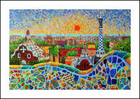 Abstract Paint Embroidery DIY Diamond Painting 5D Cross Stitch Mosaic Pattern Square Rhinestone needlework gift Home Decor G137