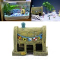 Aquarium Landscaping Decoration Resin House For Fish Tank