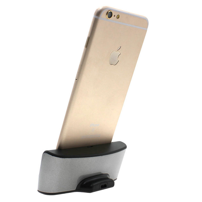 New Arrivals Dock Charger Stand Holder Desktop Cradle Adapter Charger for iPhone 66S Plus 5.5''