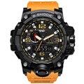 2017 Nueva Marca Digital Reloj Deportivo Hombres G Estilo A Prueba de agua Relojes Deportivos Militar S-shock hombres de Cuarzo de Lujo Led Digital de Reloj
