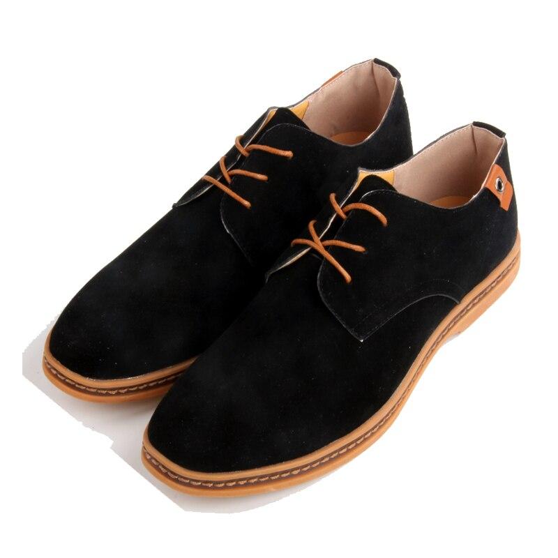 Homens sapatos Oxford de Couro Genuíno Sapatos