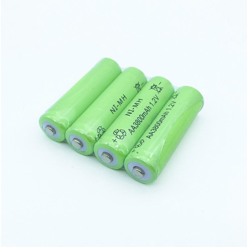 GTF AA Ni MH 1 2V 3800mAh AA Rechargeable Battery Neutral Battery Rechargeable batteria aa batteries for LED Flashlight Camera in Rechargeable Batteries from Consumer Electronics