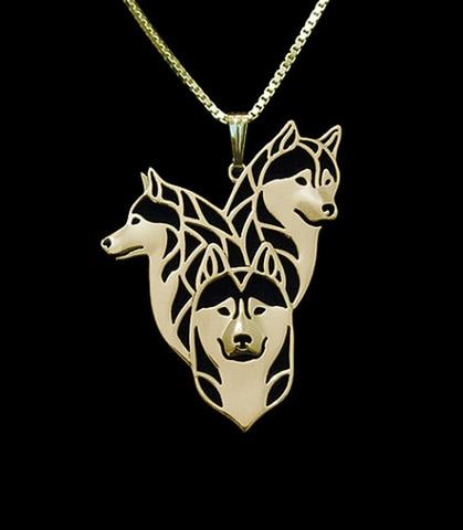 Оптовая продажа 12 шт/лот ожерелье с подвеской в виде собаки