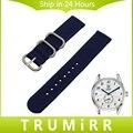 Pulseira de nylon zulu cinta + ferramenta para tag heuer carrera aquaracer Cinto de Tecido Banda Relógio de Pulso Das Mulheres dos homens Pulseira 20mm 22mm 24mm