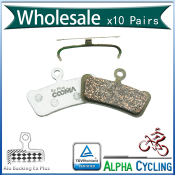MTB Bicycle Disc Brake Pads For SRAM Guide Ultimate, RSC, RS, R Avid Trail Disc Brake, 10 Paris, Ex Plus, Alu-Alloy Backing