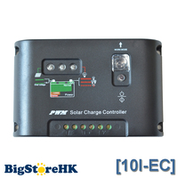 10A Solar Controller 12V 24V Solar Panel Battery Charge Controller Light and Timer Control Over Load,Short Circuit Protection