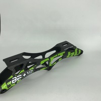 Profession 3 110MM Carbon Fiber Inline Speed Skate Frame 10 25 Inch 150 To 165mm Mounting