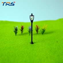 Teraysun Single Head Scale Lampposts Train N Lights Model Street Lamps Building