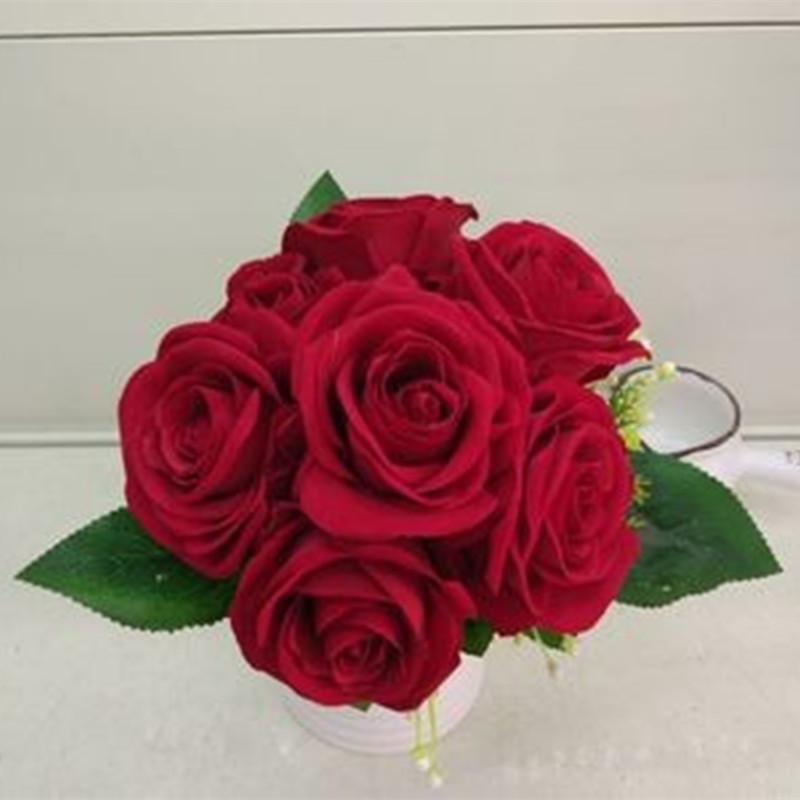 Wedding Flowers By Price: Low Price Hand Elegant Pink Artificial Flowers Cheap
