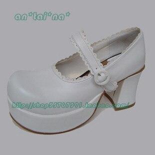 ФОТО Princess sweet lolita gothic lolita shoes custom  lolita cos punk high-heeled princess meat feet shoes 9127  high platform