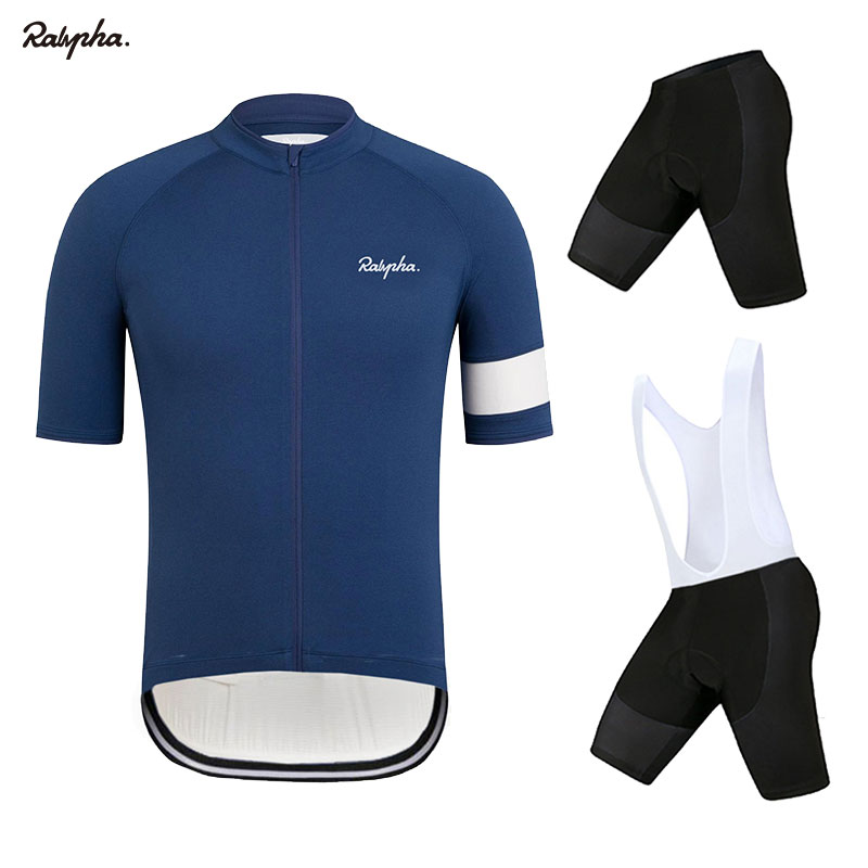 Raphaing aleing Men Ciclismo Jersey Bib Shorts Pro Cycling Set Kits Ciclismo Jersey maillots ciclismo hombre dos homens Respiráveis 2019