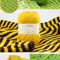 250g/Lot 5 Ball Lotus Yarns Pure Baby 100% Cotton Yarn Worsted Eco-Friendly Dyed Crochet Yarn For Knitting