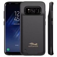 Фирменная Новинка 4200 мАч Батарея Зарядное устройство чехол для Samsung Galaxy S8 внешний Запасные Аккумуляторы для телефонов Чехол