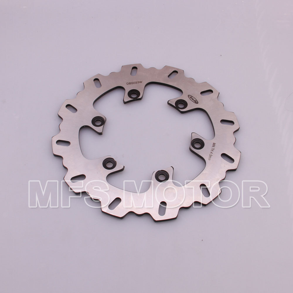 Motor Rear Brake Discs Rotor For Yamaha YZFR1 1998 1999 2000 2001 YZF R1 98 99 00 01 YZFR6 1998 1999 2000 2001 2002 YZF R6 Black mfs motor front rear brake discs rotor for suzuki gsxr 600 750 1997 1998 1999 2000 2001 2002 2003 gsxr1000 2000 2001 2002 gold