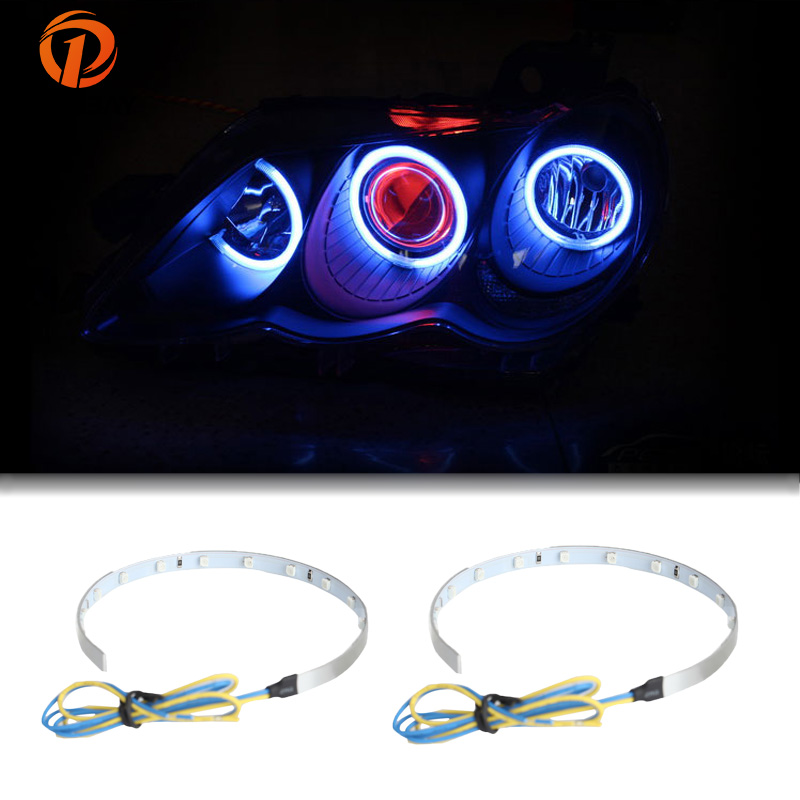 Possbay 360 Degree Demon Led Halo Rings Red Green Yellow