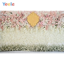 Yeele Vinyl Colorful Flowers Love Wedding Ceremony Scene Photography Backdrops  Party Photographic Backgrounds Photo Studio