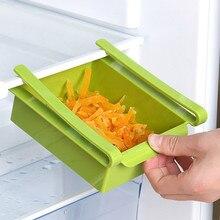 Полка для холодильника, стеллаж для хранения, выдвижная коробка для хранения продуктов, экологичный пластиковый контейнер, кухонный органайзер, инструменты
