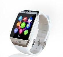 Smart uhr mit Touchscreen kamera unterstützung SIM TF Karte Konnektivität Apple iphone Android Telefon Smartwatch