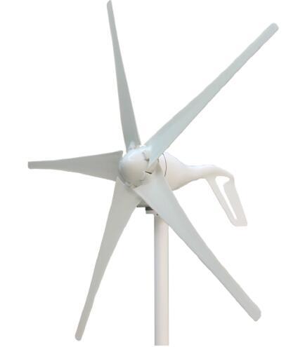 Installation facile Moulin À Vent 400 w 12 v 24VDC Axe Horizontal Vent Turbine Propre et Renouvelable D'énergie