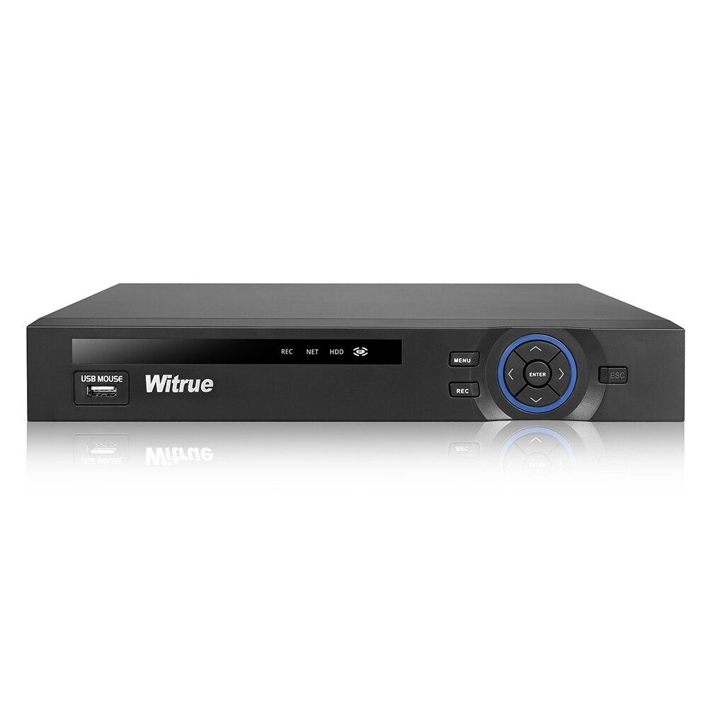 48V POE NVR 4CH 1080P IEEE802 3af H 264 Surveillance Video Recorder For POE IP Camera