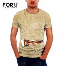 FORUDESIGNS Popular Style T-shirt Men Tees Print Bob Marley 3d Brand Clothing Summer Tops Hip Hop T Shirt Fashion XS-XXL