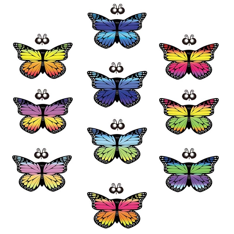 children girl colorful animal butterfly camping cape scarf monarch butterfly cloak wing decoration mask mantle kid polyester