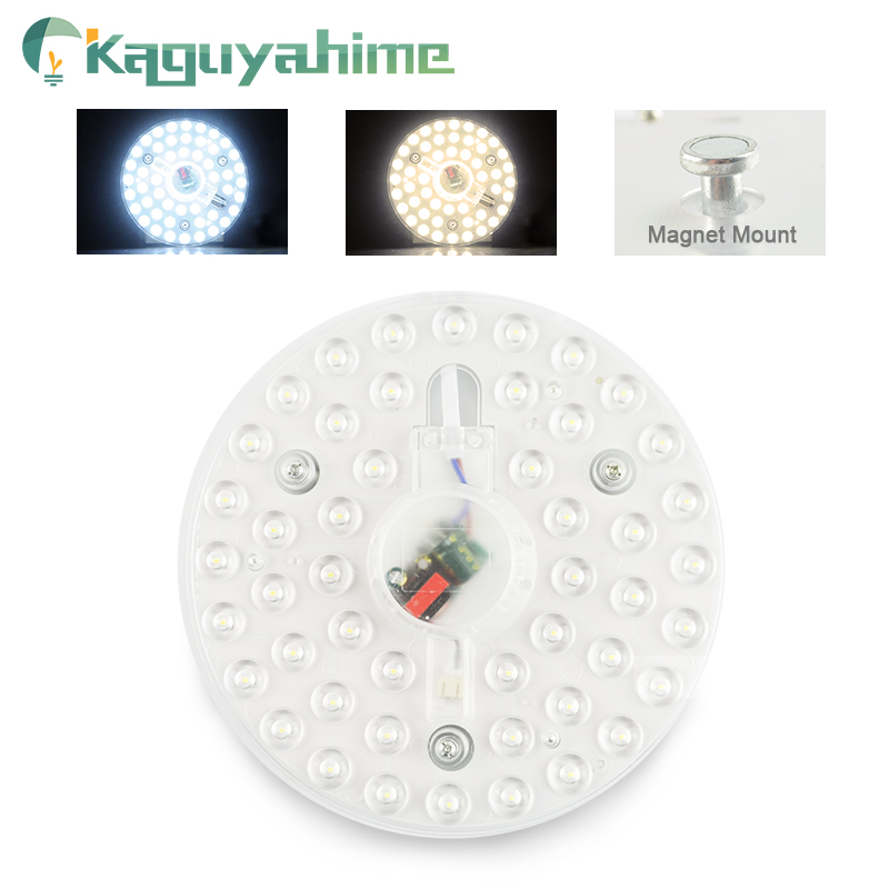 Kaguyahime AC 220V Celling Lamp Lighting Source LED Light Panel 12W 18W 24W Module Bulb LED Round Ceiling Tube For Living Room
