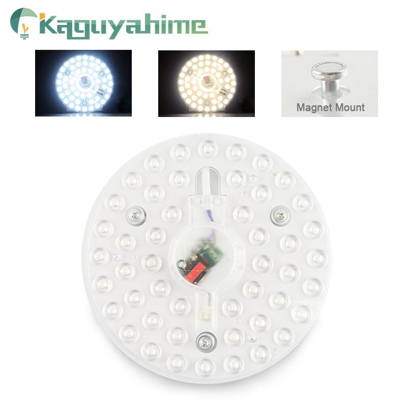 Kaguyahime AC 220V Celling Lamp Lighting Source LED Light Panel 12W 18W 24W Module Bulb LED Round Ceiling Tube For Living Room